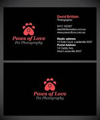 Business Card Caddy Bold Playful Business Card Design For David Brittain By Joliau