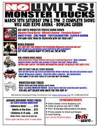 6 Flags Ticket Prices No Limits Monster Trucks Bowling Green Late Show At Wku Agri