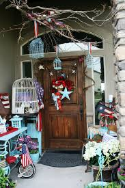adventures of a busybee july 2015 this is my porch for the 4th of july this year