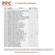 11 09 intercooler assembly 15t2 ir 15t2 parts