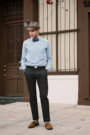 What To Wear With Light Jeans 20 Ideas To Wear Black Pants With Brown Shoes For Men