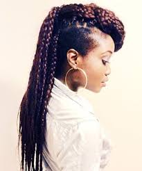 hair braided on the top but cut close on the side cutting it close 10 swoon worthy braids for african american