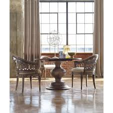 hooker furniture melange cambria 48in cambria dining table