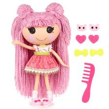 lalaloopsy loopy hair buy lalaloopsy loopy hair doll sparkles online at low prices