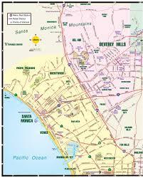 Map Of West Los Angeles by Mapa De Los Angeles Ca Trayectorio
