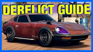 need for speed payback nissan 240z derelict guide nfs payback
