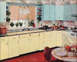 1950 kitchen furniture 50s retro kitchens
