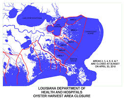 louisiana map areas in precautionary move ldwf and dhh announce closures due to