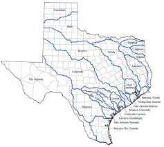 Texas rivers images River basins reservoirs texas water development board jpg