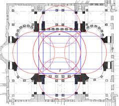 floor plan of hagia sophia squaring the circle of sophia