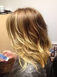 slightly angled long bob long bob haircuts ombre hairstyles