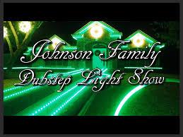 johnson family christmas lights johnson family dubstep christmas light show youtube