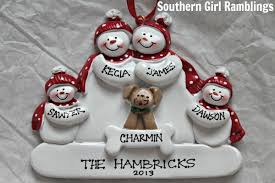 our new family ornament from ornaments with