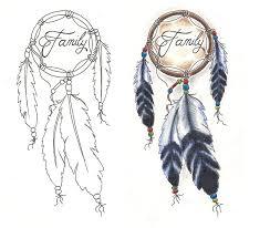 lovely family dream catcher tattoo designs for girls picsmine