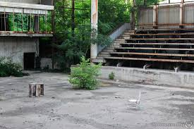 is this abandoned sports hall the olympic venue that history