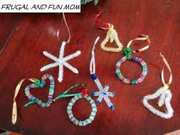 ornaments with a and simple kid s