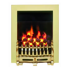 classic valor blenheim brass gas fire traditional