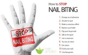 learn how to stop biting your nails the easy way