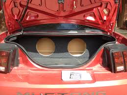 mustang trunk space zenclosure box for 2002 mustang help mustang evolution