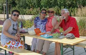 Wetter Bad Segeberg Picknick Am See Internationale Inklusive Tafel An Der