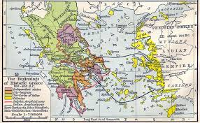 Map Of Ancient Greece Heritage History Products