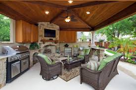 kitchen patio ideas covered patio with outdoor kitchen designs 94b7149d3303e6bf pool