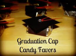 high school graduation favors graduation cap candy favors graduation table decorations candy