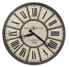 howard miller 625 601 company time large wall clock