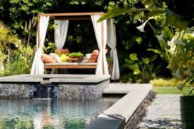 Tropical Backyard Designs 26 Sleek Pool Designs Ideas Transforming Gardens Into Backyard Oasis