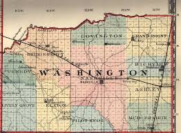 Il County Map Washington County Illinois Maps And Gazetteers