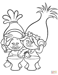 trolls coloring pages poppy coloring pages