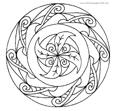 coloring pages appealing free printable mandalas kids coloring