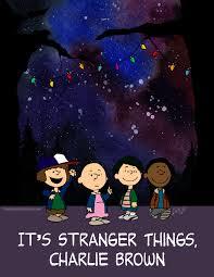 good grief it u0027s a stranger things charlie brown mash up nerdist