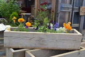garden exciting wooden planter boxes for modern outdoor area room