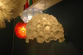 Chandelier Made From Plastic Bottles Flocking Dressingroomsinteriors