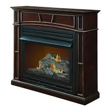 shop pleasant hearth 45 88 in dual burner vent free tobacco flat
