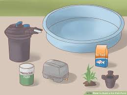 How To Make A Patio Pond How To Build A Koi Fish Pond With Pictures Wikihow