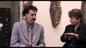 Borat Not Meme - borat feminist scene youtube