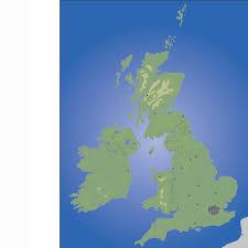 british isles blank map ndla