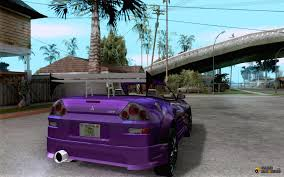 mitsubishi eclipse fast and furious mitsubishi spyder 2fast2furious cabriolet for gta san andreas