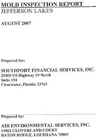 mold inspection reports katy s exposure