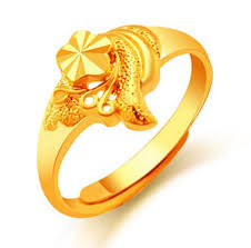 wholesale rings com images 2018 wholesale 24k gold flower rings for women gold plated dubai jpg
