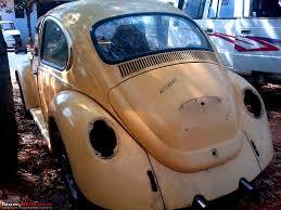 beetle volkswagen 1970 1970 vw beetle restoration delivered team bhp