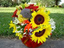 flowers forever yellow nature bouquet thanksgiving