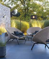 Balcony Furniture Set by Stylish Modern Seating For The Garden Adamchristopherdesign Co