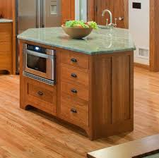 kitchen island table on wheels natural wood cart with doors