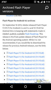 adobe flash player 11 1 for android how to install adobe flash player on android in 3 simple steps
