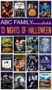 2015 abc family 13 nights of halloween movie schedule movie