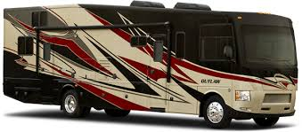 Outlaw Driveaway Awning 2013 Outlaw Class A Toy Hauler Motorhomes By Thor Motor Coach