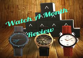 Monthly Subscription Boxes Fashion Watch A Month Review Monthly Subscription Box Youtube